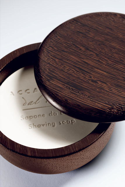 ACCA KAPPA 1869 WENGE Bowl with shaving soap