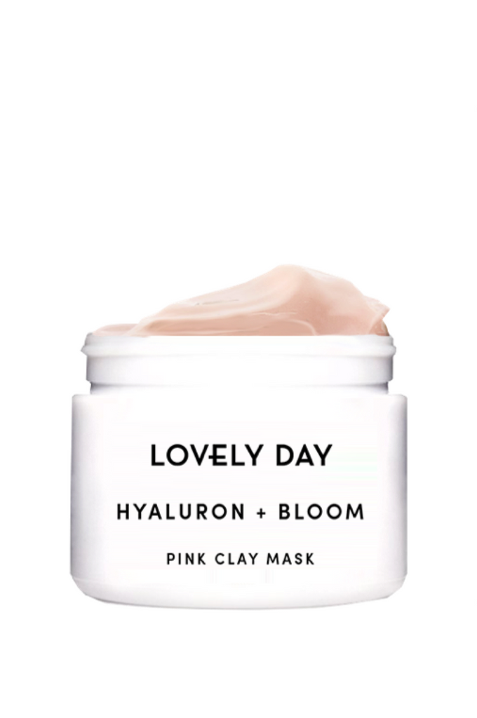 LOVELY DAY HYALURON + BLOOM Pink Clay Mask