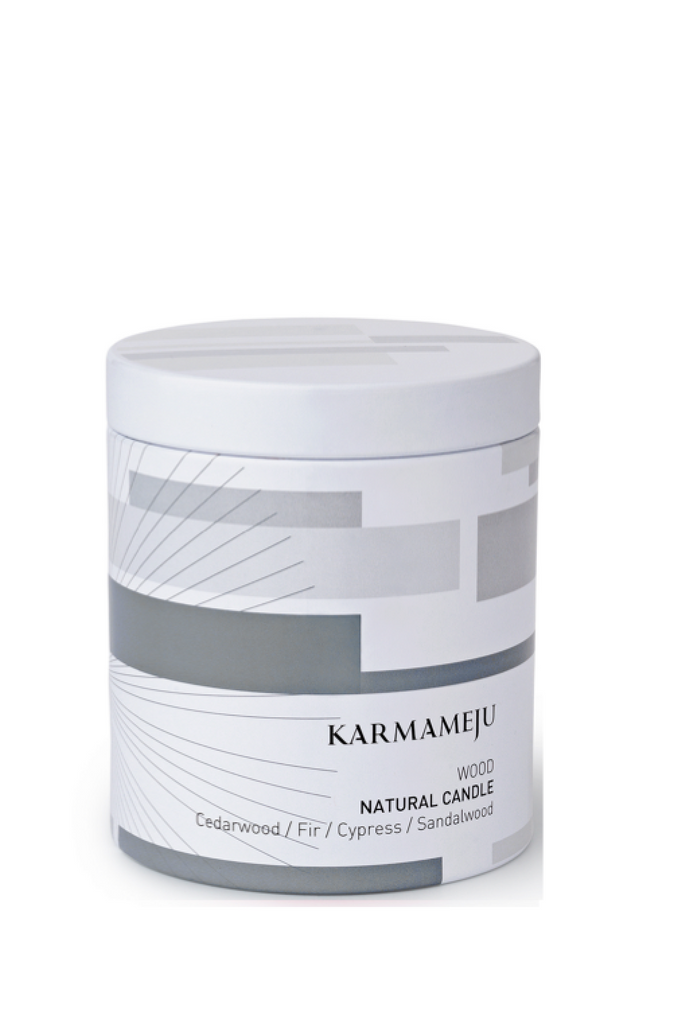 KARMAMEJU Natural Candle 01 WOOD