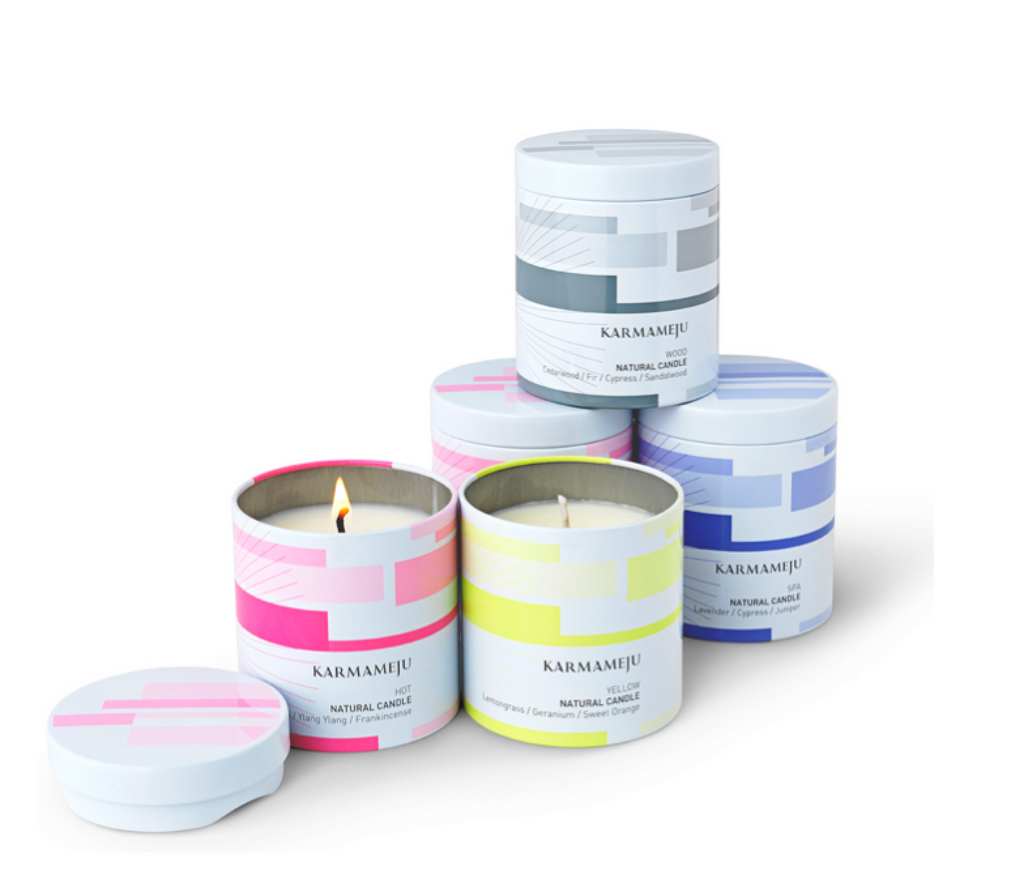 KARMAMEJU Natural Candle 02 SPA