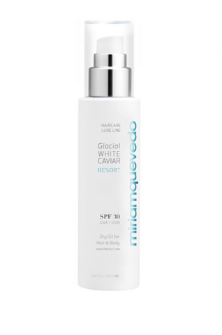 MQ GLACIAL WHITE CAVIAR RESORT SPF30 DRY OIL FOR HAIR AND BODY