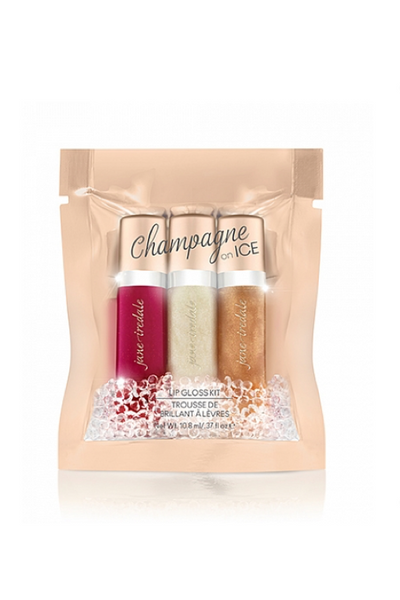 JANE IREDALE LIPS Champagne on Ice Kit