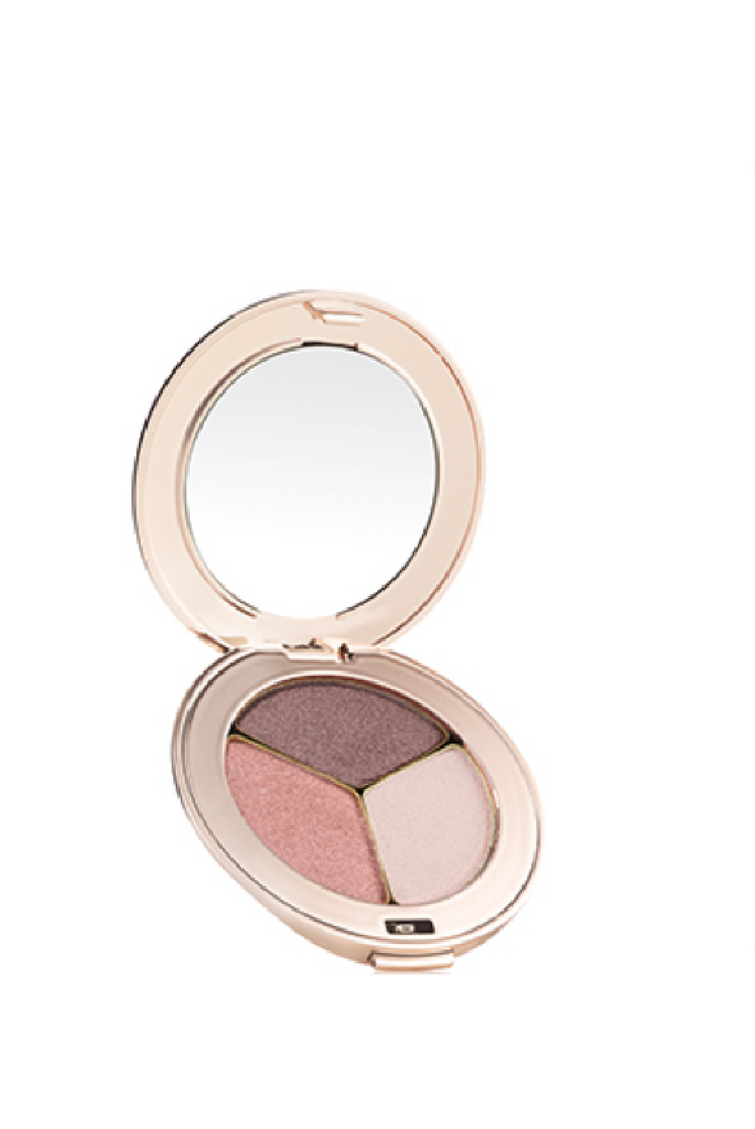 JANE IREDALE EYES PUREPRESSED® EYE SHADOW TRIPLE Pink Quartz