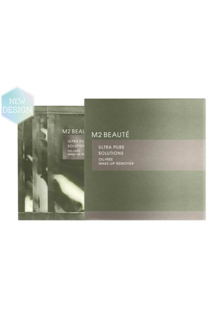 M2 Beauté Oil Free Eye Make-up remover sachets