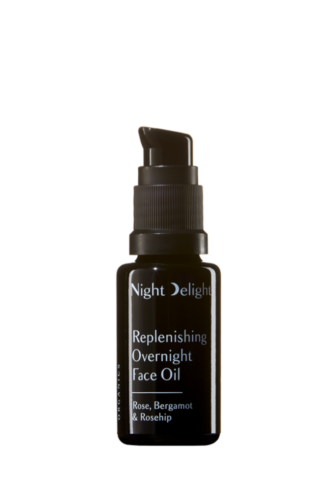 NIGHT DELIGHT FACE Replenishing Overnight Oil