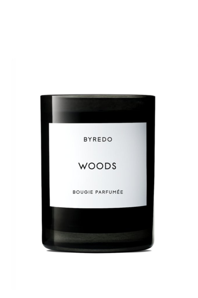 BYREDO FRAGRANCED CANDLE WOODS