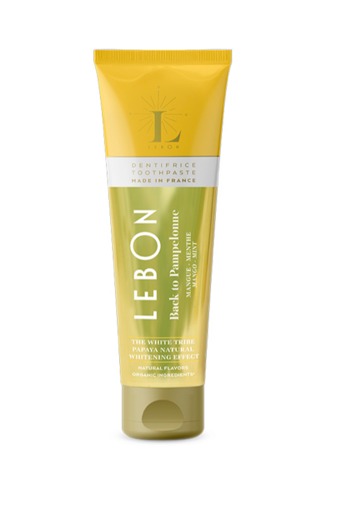 LEBON TOOTHPASTE Back to Pampelonne