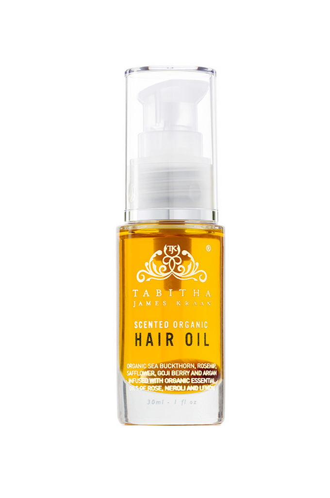 TJK Scented Organic Hair Oil