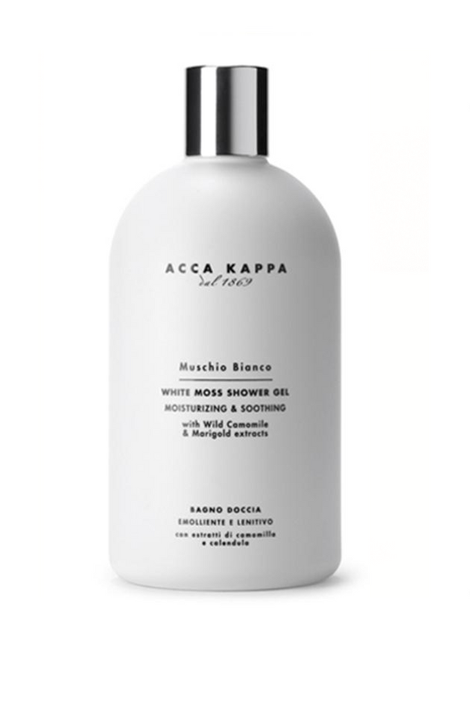 ACCA KAPPA Bath & Shower Gel WHITE MOSS