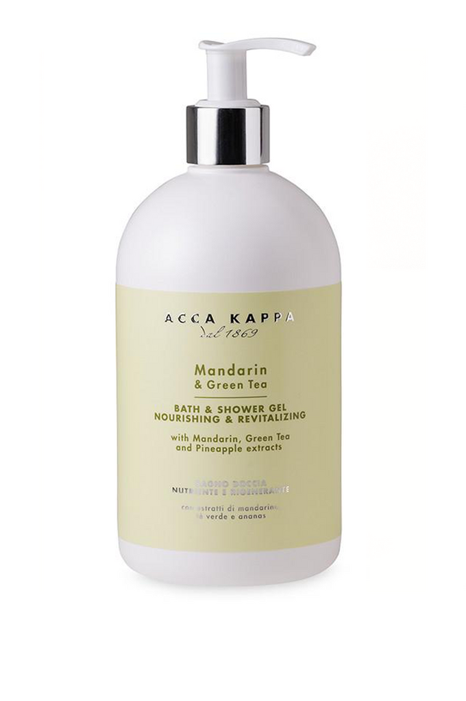ACCA KAPPA Bath & Shower Gel MANDARIN & GREEN TEA