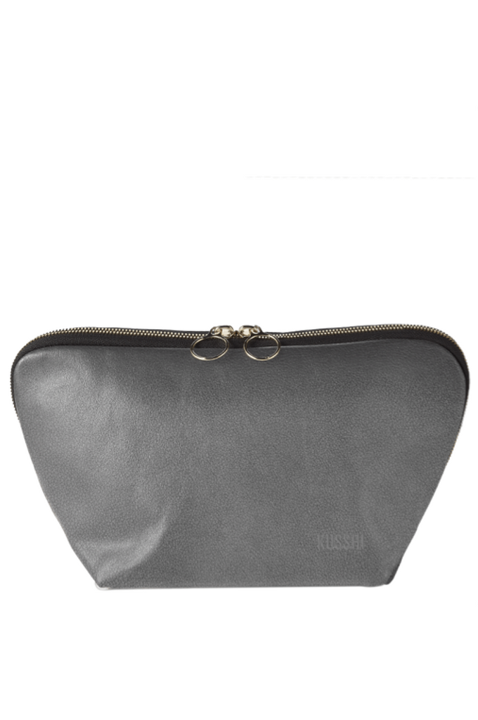 KUSSHI SIGNATURE Make-Up Bag LEATHER