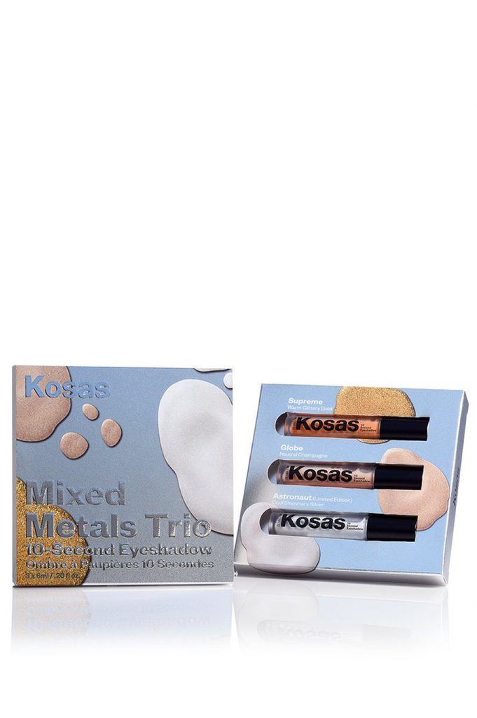 KOSAS Mixed Metals 10-Second Eyeshadow Trio