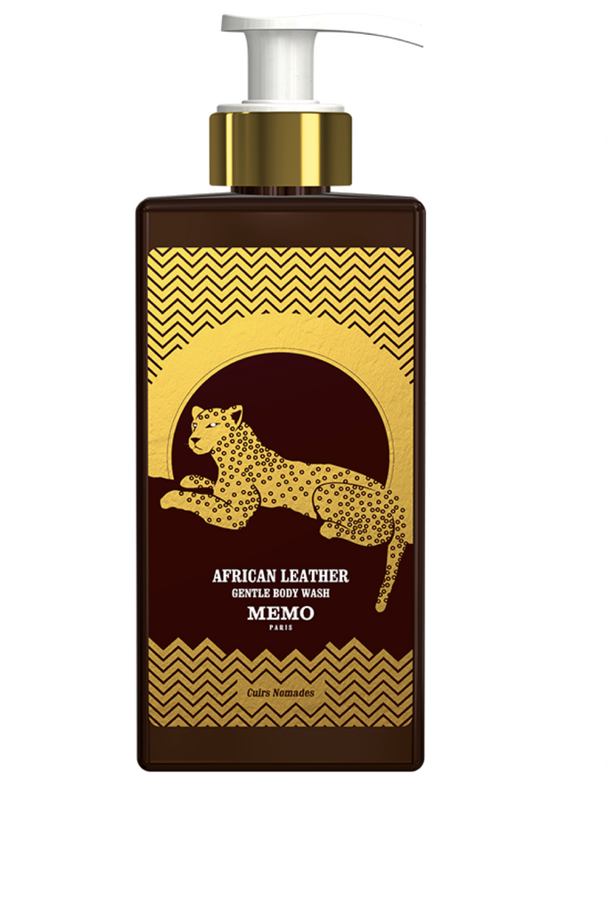 MEMO PARIS GENTLE BODY WASH African Leather
