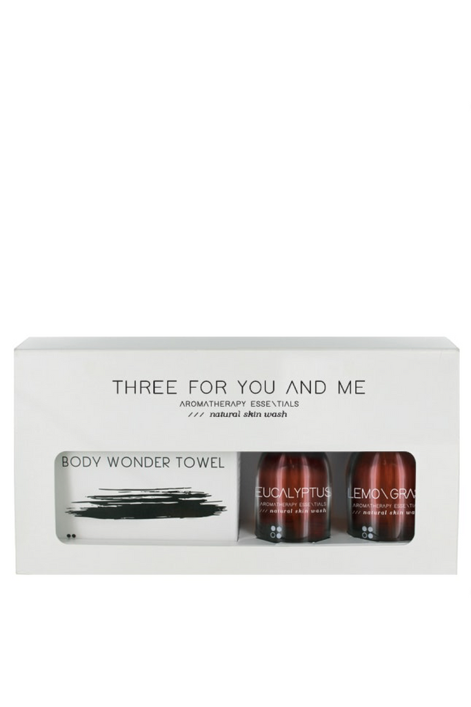 "RAINPHARMA BODY ""Three for You and Me"" shower sets"