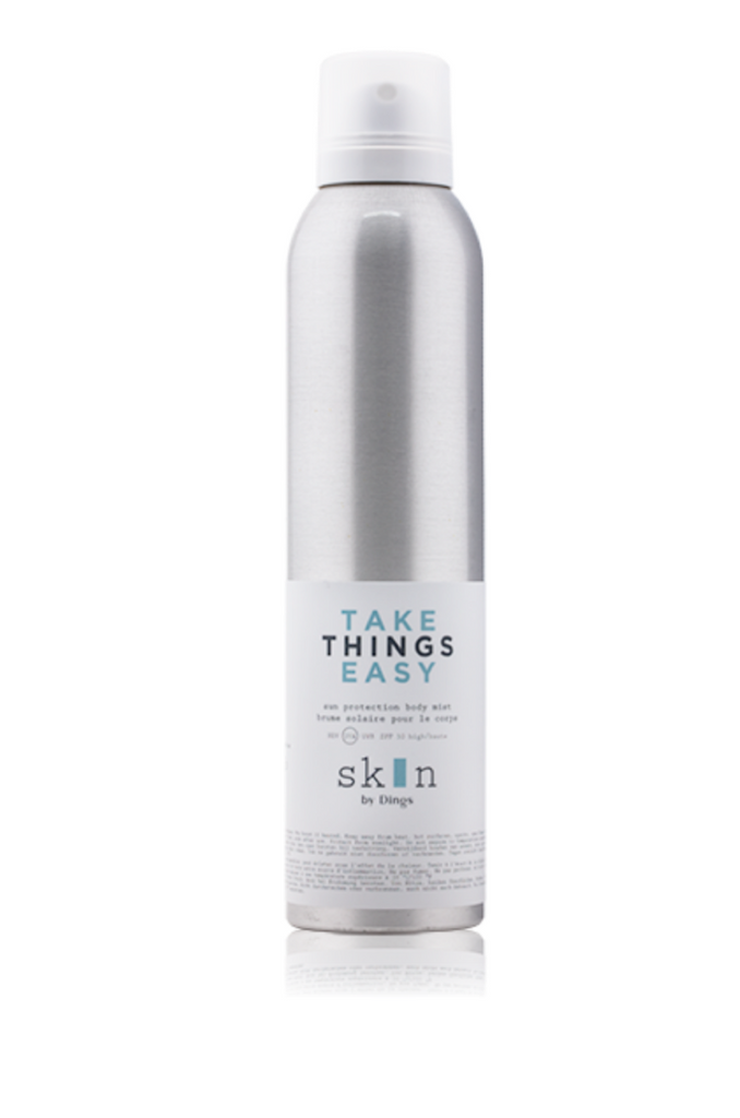 Skin by Dings TAKE THINGS EASY – sun protection body mist SPF 30