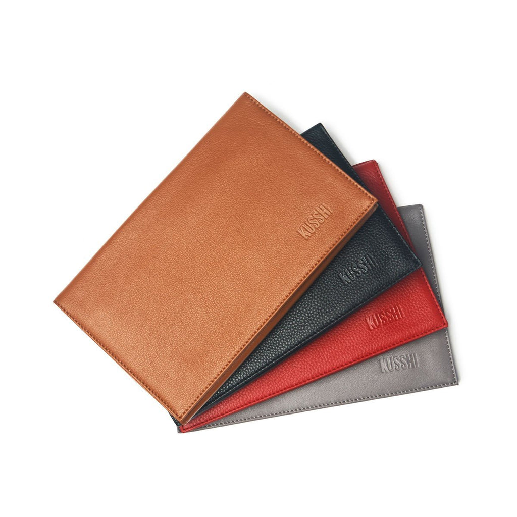 KUSSHI Leather Clutch Cover & Organizer