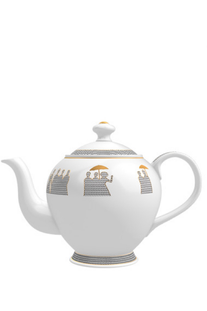 MEMO Paris HOME Tea Pot Candle - Cedar