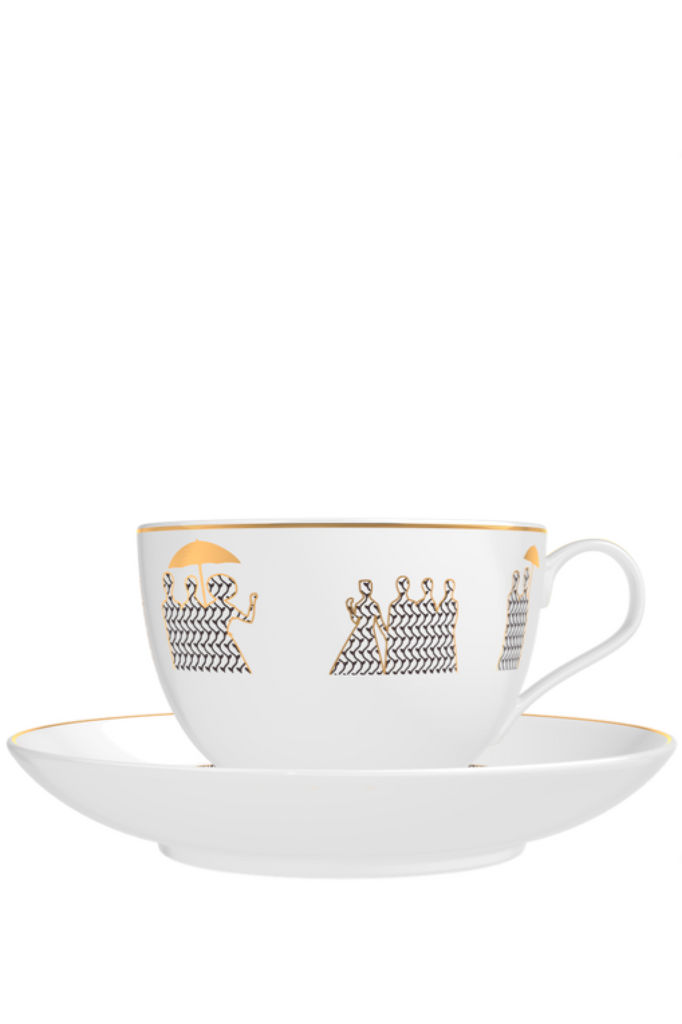 MEMO Paris HOME Cedar Candle - Tea Cup SET (2pcs)