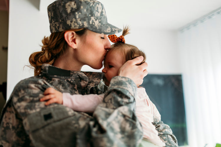 TRICARE mom with baby