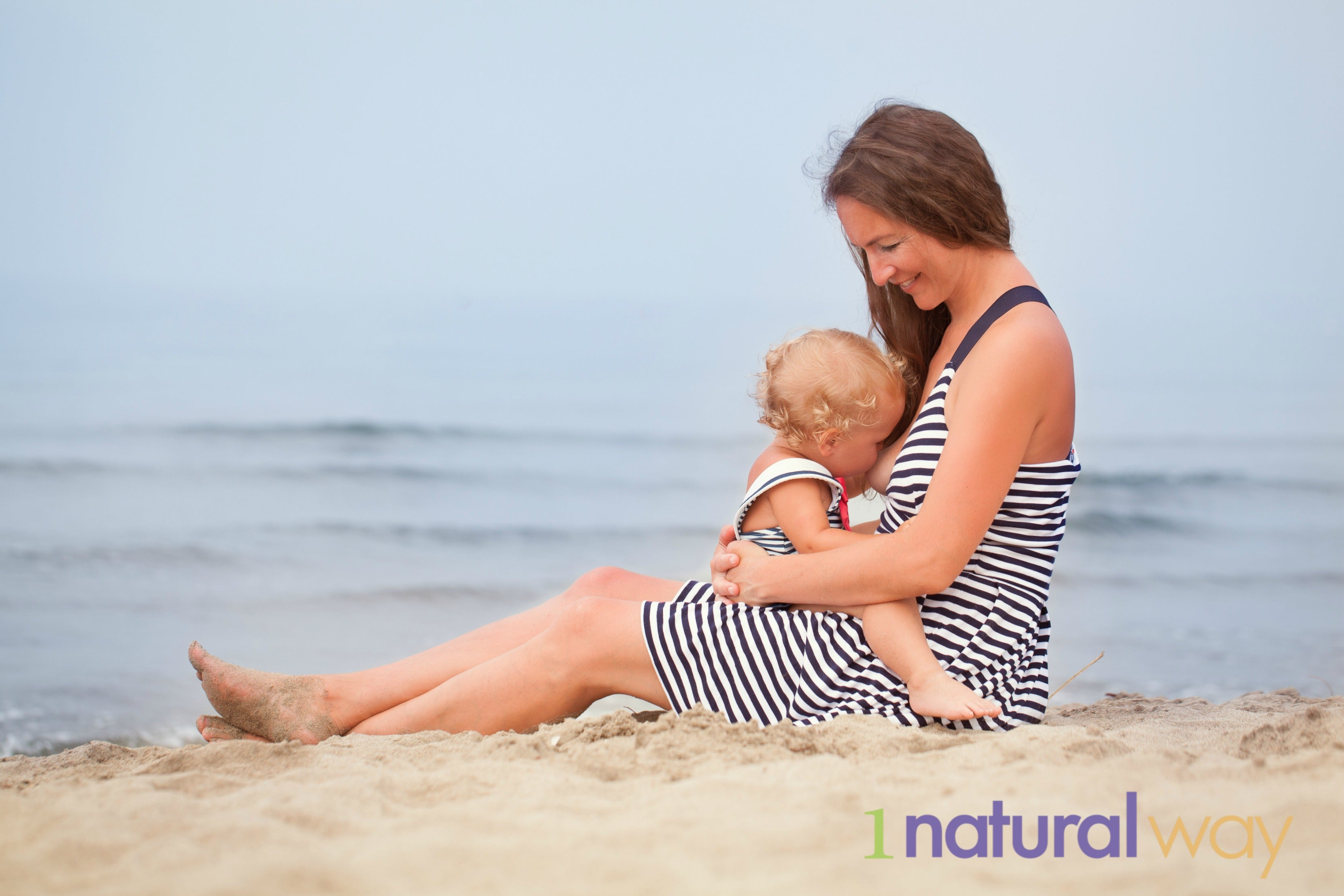 1 Natural Way - Mom and Baby on Beach