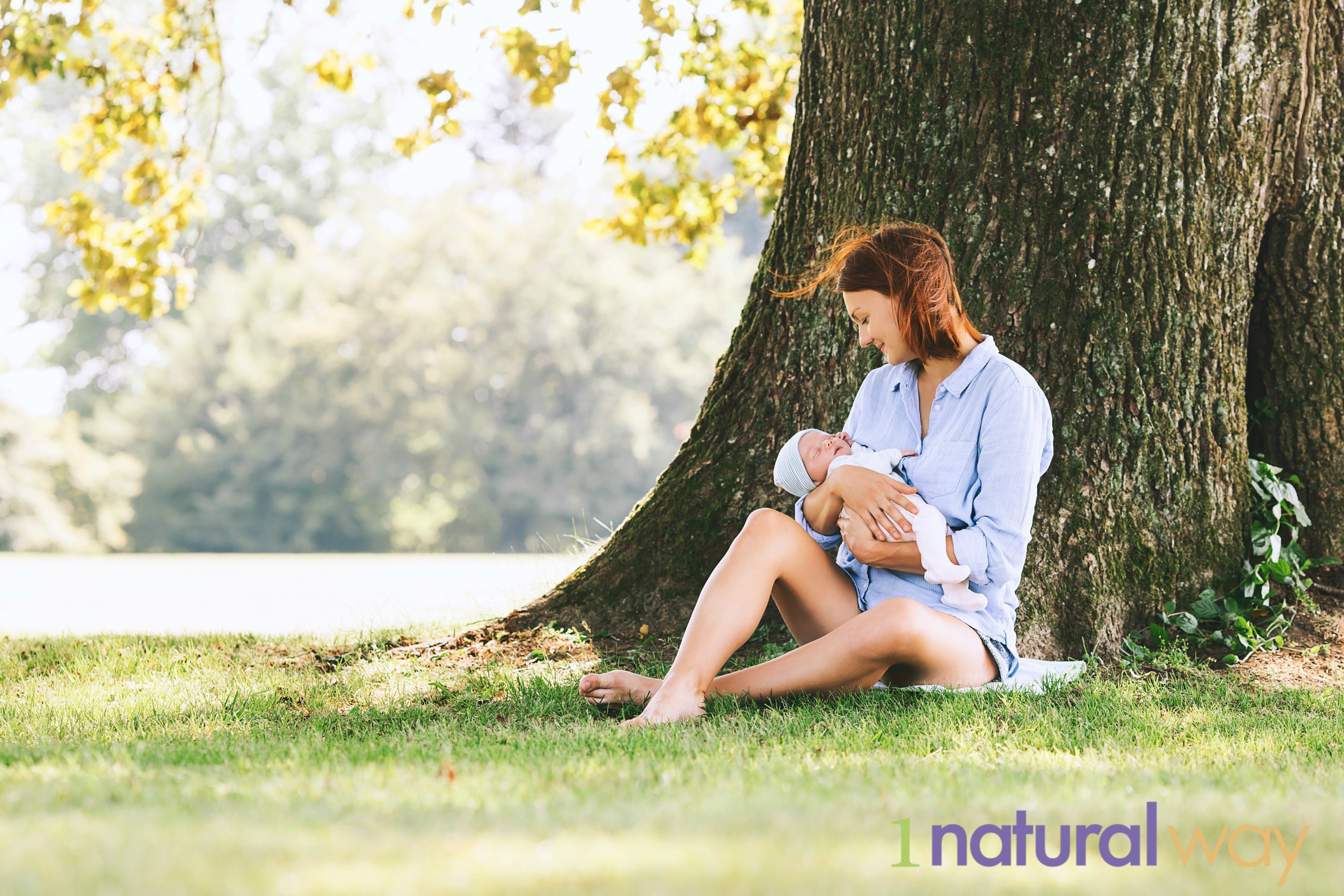 1 Natural Way - Mom and Baby under tree