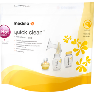 Medela Quick Clean Micro-Steam Bags, 5 Count