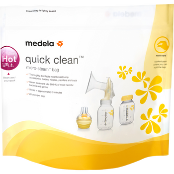 Medela Quick Clean Micro Steam Bags 5 Count 1 Natural Way