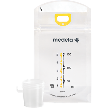 Medela Pump & Save Breastmilk Bags, 20 count