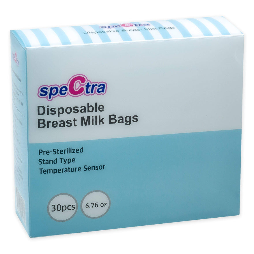 Spectra Disposable Breastmilk Storage Bags, 30 Count