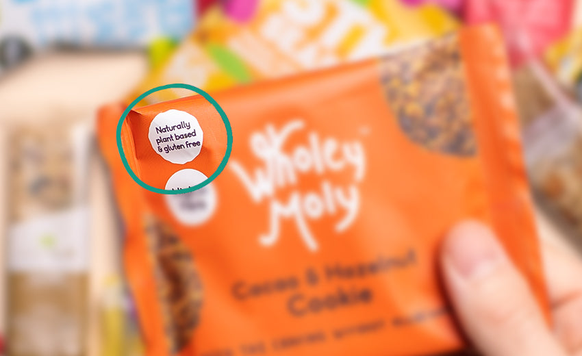 Wholey Moly cookie gluten free
