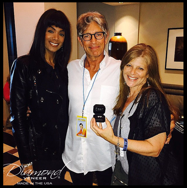 Eric Roberts with Diamond Veneer