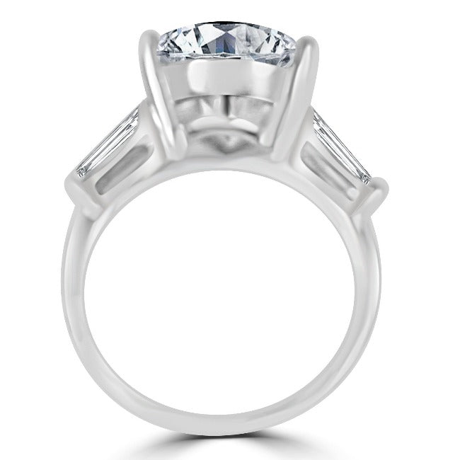 4CT Intensely Radiant Pear Diamond Veneer Cubic Zirconia Engagement/Wedding Ring 635R71343 - Diamond Veneer Jewelry