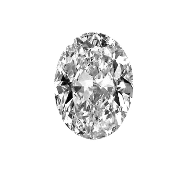 Diamond Veneer Cubic Zirconia Intensely Radiant Oval Shape Loose Stone - Diamond Veneer Jewelry