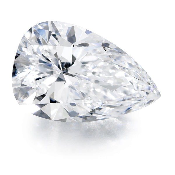 Diamond Veneer Cubic Zirconia Intensely Radiant Pear Shape Loose Stone - Diamond Veneer Jewelry
