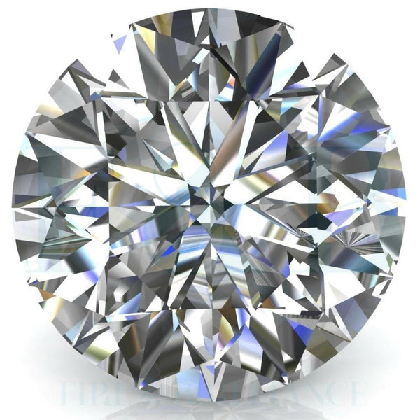Diamond Veneer Cubic Zirconia Intensely Radiant Round Shape Loose Stone - Diamond Veneer Jewelry