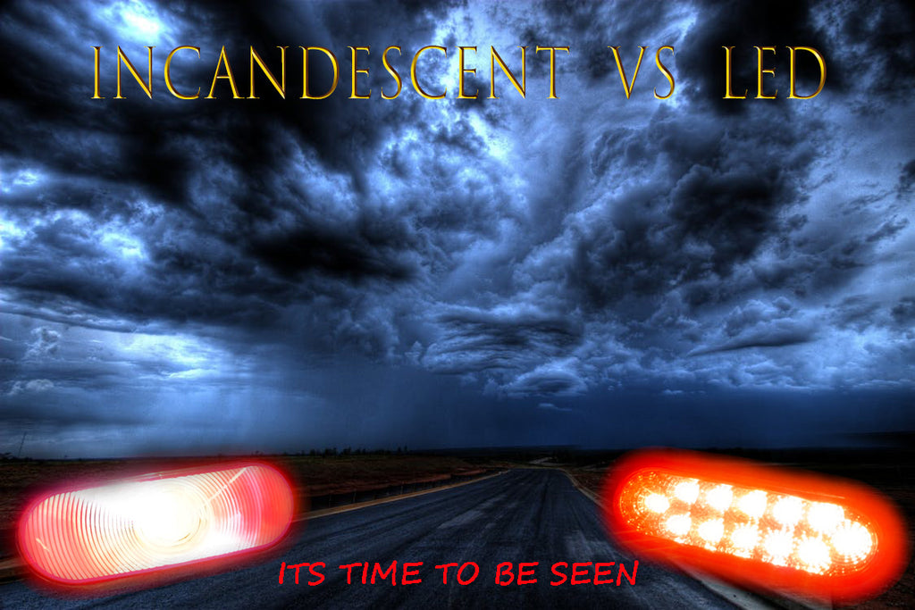INCANDESCENT VS LED