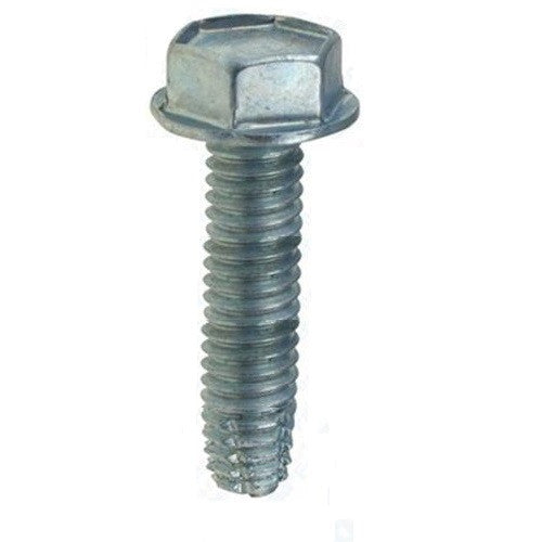 "Thread-Cutting Screw,  3/8""-16 X 1-1/2"" Type F"