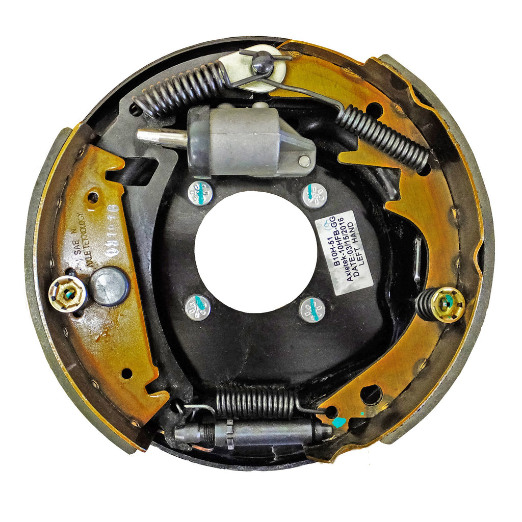 "Brake Assembly- 10""x 2-1/4"" Left Hand Hydraulic For 3,500 LB. Axle"