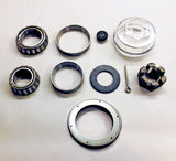 Bearing Kit for 10,000 lb Axles with 25580/387A Bearings, Unitized Oil Seal