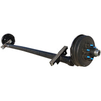 Torsion Axle, 5,200 lb. Surge Hydraulic Drum Brake (89