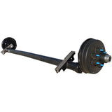 "Torsion Axle, 5,200 lb. Surge Hydraulic Drum Brake (89"" HF, 74"" OB)"