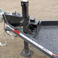 Jack, Side Wind Square 8,000lb. with Custom Mounting Bracket (5'x10' FB)