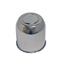 Stainless Steel Center Cap with Center Plug - 6 Hole (4.25