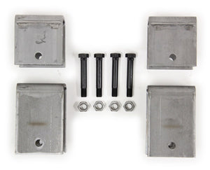 3.5K-6K Single Axle Hanger Kit - Slipper Springs