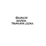 "Decal, Snake River Trailer - 8"" x 8"" White"