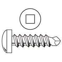 Self-Drilling Screw, #8-18 x 3/4