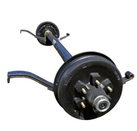 Spring Axle, 5,200 lb. Straight Surge Hydraulic Drum Brake (86