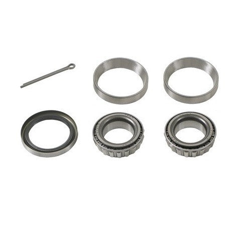 Bearing Kit for 2,000 lb Axle with Inner/Outer Bearings L44643, 12192TB Double Lip Seal