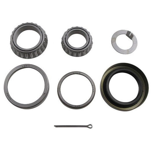 Bearing Kit for 3,500 lb Axle with #84 Spindle, L44649/L68149 Bearings, 10-19 Double Lip Seal