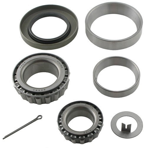 Bearing Kit for 5,200 - 7,000 lb Axle with 15123/25580 Bearings, 10-10 Double Lip Seal
